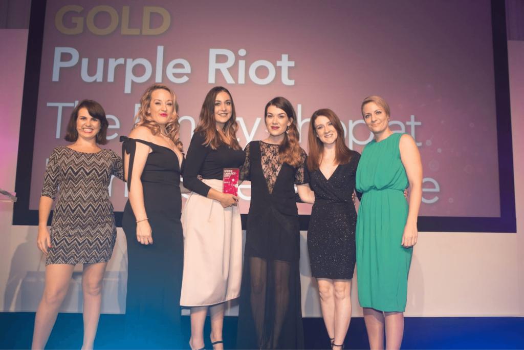 purple riot awards team image